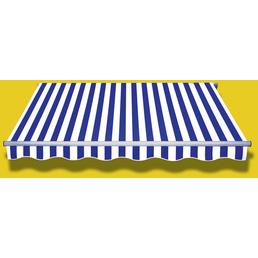 Markise »STAR KLASSIK«, BxT: 250x200 cm, weiss/grau/blau gestreift