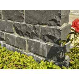 EURO STONE Mauerstein 35 x 14 x 16cm, aus Basalt