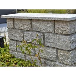 EURO STONE Mauerstein-Abdeckplatte, BxHxL: 30 x 3 x 100 cm, geflammt, Granit