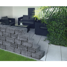 mr gardener mauerstein arezzo maxi aus beton. Black Bedroom Furniture Sets. Home Design Ideas