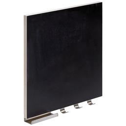 HETTICH Memoboard, Holz/Stahl, schwarz,350x 295 x35mm