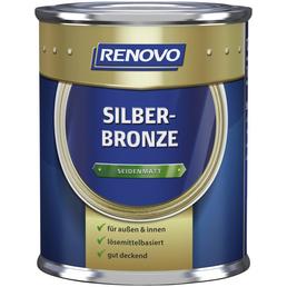 RENOVO Metallglanzfarbe, silberbronzefarben , seidenmatt