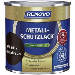 RENOVO Metallschutzlack, schokobraun (RAL 8017), seidenmatt