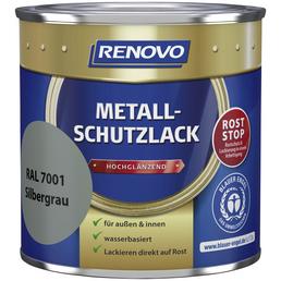 RENOVO Metallschutzlack, Silbergrau, für innen & außen