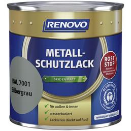 RENOVO Metallschutzlack, silbergrau (RAL 7001), seidenmatt