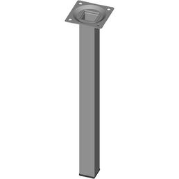 ELEMENT SYSTEM Möbelfuß, BxHxT: 25 x 300 x 25 mm, weißaluminium