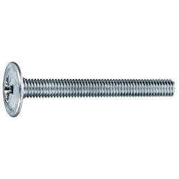 GECCO Möbelgriffschraube, 4 mm, Stahl, 14 Stück