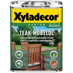 XYLADECOR Möbelöl, teak, seidenglänzend, 0,75 l