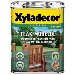 XYLADECOR Möbelöl, transparent, seidenglänzend, 0,75 l