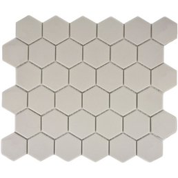 HuH Mosaik Mosaikfliese »Hexa«, BxL: 28,1 x 32,5 cm, Wandbelag/Bodenbelag