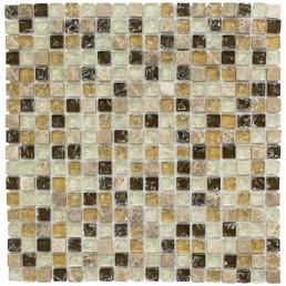 HuH Mosaik Mosaikfliese »Ice Cube«, BxL: 30,5 x 30,5 cm, Wandbelag