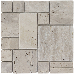 Mosaikmatte »Ashlar Pattern«, BxL: 30,5 x 30,5 cm, Wandbelag/Bodenbelag