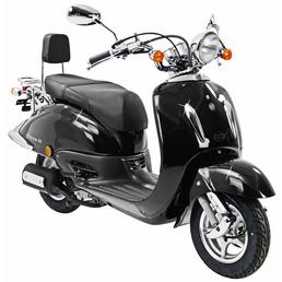 ALPHAMOTORS Motorroller, 125  cm³, 80 km/h, Euro 4
