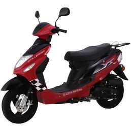 ALPHAMOTORS Motorroller »City Leader«, 50 cm³, 45 km/h, Euro 4