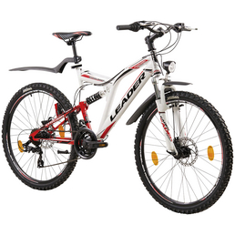 LEADER Mountainbike »Leader Chicago Street Disc«, 26 Zoll, Herren