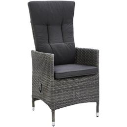CASAYA Move-Sessel »Museca«, BxHxT: 57 x 112 x 60 cm, Kunststoffgeflecht/Stahl