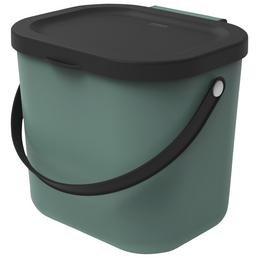 Rotho Mülleimer »Albula«, Klappdeckel, 6 l, Kunststoff