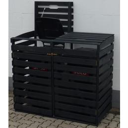 Mülltonnenbox, BxHxT: 130 x 111 x 63 cm, anthrazit