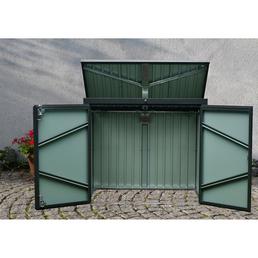 FLORAWORLD Mülltonnenbox, BxHxT: 158 x 134 x 101 cm, anthrazit