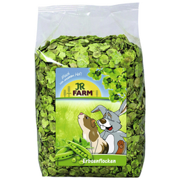 JR FARM Nager-Snacks »Erbsenflocken«, 4 Beutel à 1000 g