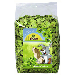 JR FARM Nager-Snacks »Erbsenflocken«, Erbsen, 4x1 kg