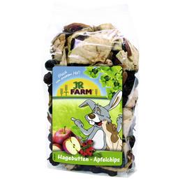 JR FARM Nagersnack »Hagebutten-Apfelchips«, 125 g