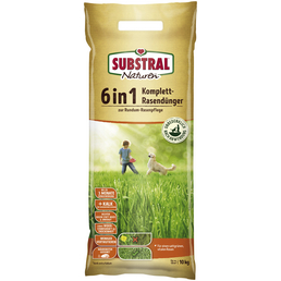SUBSTRAL® Naturen Komplettrasendünger 6in1 10 kg