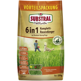 SUBSTRAL® Naturen Komplettrasendünger 6in1 20 kg