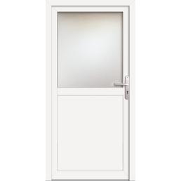 Meeth Nebeneingangstür »ProM 02«, Nach außen öffnend, Kunststoff (PVC), weiß