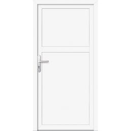 Meeth Nebeneingangstür »ProM 07«, Nach außen öffnend, Kunststoff (PVC), weiß