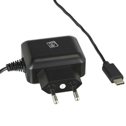 2GO Netzladegerät, Schwarz, USB-C-Stecker