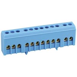 SLS-ELEKTRO Nullleiterklemme, Anschlüsse: Schraubklemmen, Kunststoff