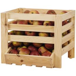 PROMADINO Obst- und Kartoffelhorde, BxHxL: 40 x 33 x 36 cm, Holz