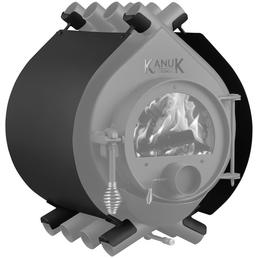 KANUK® Ofenverkleidung für Warmluftofen Kanuk Original 10,3 kW, BxL: 49 x 49 cm, Stahl