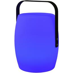 GARDEN IMPRESSIONS Outdoor Lampe »Cozy Living Moodlights«, bunt, eckig mit abgerundeten Kanten, Höhe: 25 cm