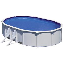 GRE Ovalpool Set , oval, BxLxH: 375 x 610 x 120 cm