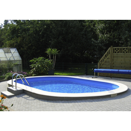 MYPOOL Ovalpool Set , oval, BxLxH: 500 x 900 x 150 cm