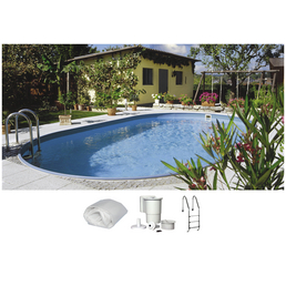SUMMER FUN Ovalpool-Set Ovalformbeckenset , oval, BxLxH: 300 x 490 x 120 cm