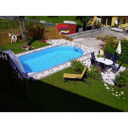 STEINBACH Ovalpool »Styria«, oval, BxHxL: 400 x 150 x 737 cm