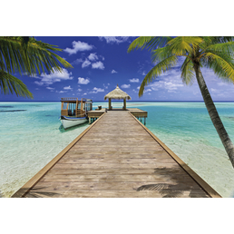 KOMAR Papiertapete »Beach Resort«, Breite: 368 cm, inkl. Kleister
