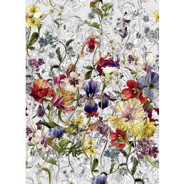 KOMAR Papiertapete »Flora«, Breite: 184 cm, inkl. Kleister