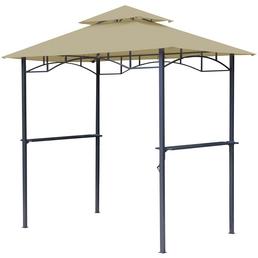 GRASEKAMP Pavillon »BBQ«, Spitzdach, rechteckig, BxT: 240 x 150 cm