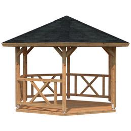 PALMAKO AS Pavillon »Betty 1«, Spitzdach, sechseckig, BxHxT: 423 x 313 x 423 cm