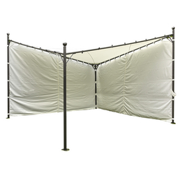 SIENA GARDEN Pavillon, Breite: 400 cm, Sonnenschutzfaktor: 50+