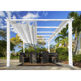 PARAGON OUTDOOR Pavillon »Florida«, quadratisch, BxT: 350 x 350 cm