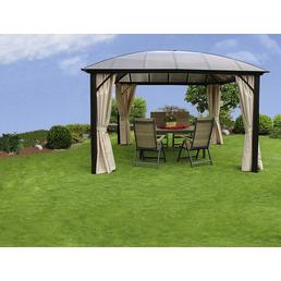 LECO Pavillon, halbrundes Dach
