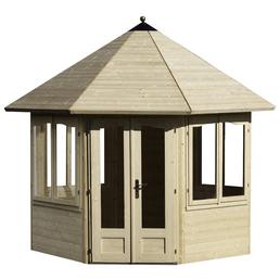 MR. GARDENER Pavillon »Lövanger 1«, Spitzdach, achteckig, BxT: 359 x 359 cm, ohne Dacheindeckung