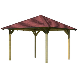 KARIBU Pavillon-Set »Cordoba«, Walmdach, viereckig, BxHxT: 357 x 200 x 357 cm
