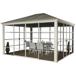SOJAG Pavillon »Striano«, rechteckig, B x T: 362 x 298 cm