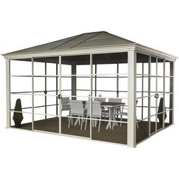 SOJAG Pavillon »Striano«, Walmdach, rechteckig, BxT: 427 x 362 cm, inkl. Dacheindeckung